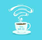 热咖啡和免费无线网