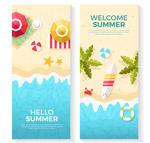 夏季海滩banner