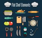 扁平化厨房用品