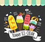 4款彩绘美味雪糕