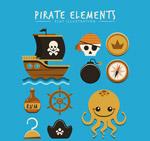 可爱海盗图标