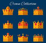 扁平化王冠