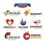 7款抽象鸡标志