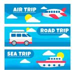 旅行元素banner