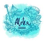 夏威夷特色元素