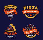 披萨快餐标志