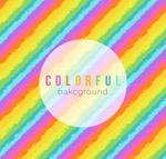 彩虹色斜纹背景