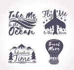 创意旅行话语标签