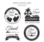 旅行引述语标签