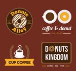 咖啡和甜品店标志