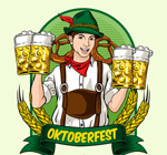 德国啤酒节酒保