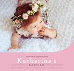 女婴洗礼派对海报