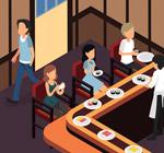 寿司吧内部图