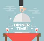 用餐时间餐桌