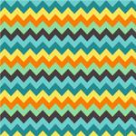 彩色曲折线背景