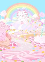 卡通童话糖果城堡