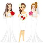 3款卡通新娘设计