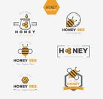 创意蜂蜜标志