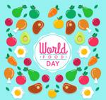 世界粮食日背景