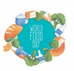 彩绘世界粮食日