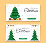 圣诞树banner