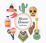 墨西哥元素矢量