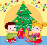 客厅圣诞树