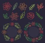花环和10款植物