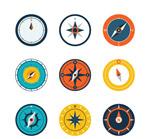彩色指南针设计