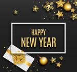 金色新年礼盒