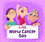 彩绘世界癌症日