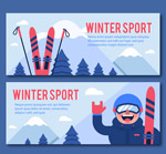 冬季运动banner
