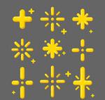 6款抽象星星设计