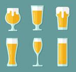 扁平化杯装啤酒