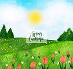 春季野外风景
