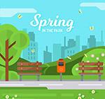 春季公园风景