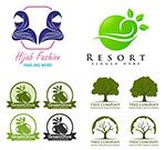 树木橄榄与头巾标志
