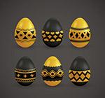 金色花纹彩蛋