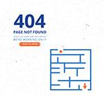 迷宫图404错误页