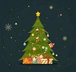 圣诞树和礼物