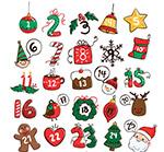 彩绘圣诞月月历