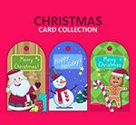 圣诞节吊牌卡片