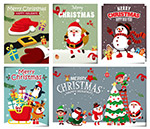 圣诞节祝福卡片