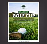 高尔夫大师赛传单