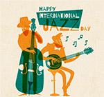 彩色国际爵士乐日