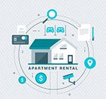公寓出租信息图