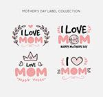 母亲节标签设计