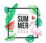夏季促销招贴画