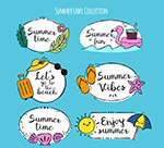夏季语言标签