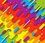 抽象彩虹色背景